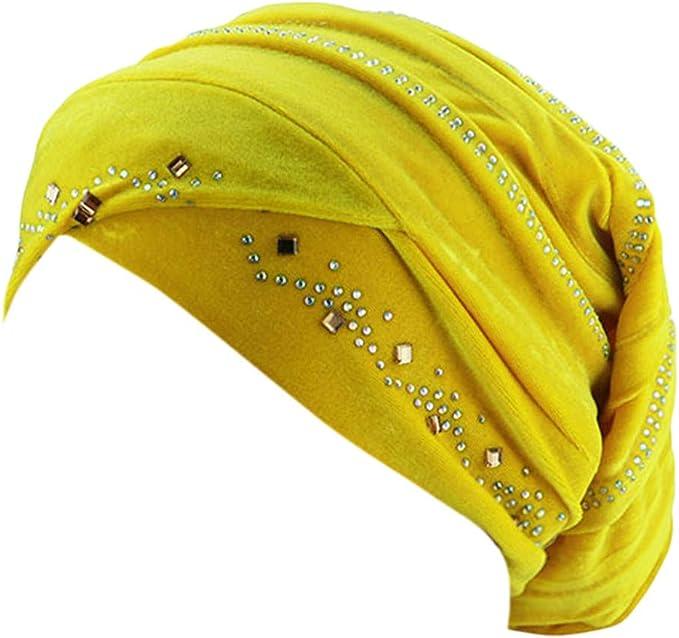 LOPILY Gorra De Terciopelo Caliente Bufanda hindú Musulmana Hijab ...