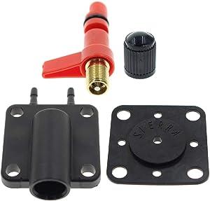 MOTOALL 18-7044 Primer Solenoid Service Maintenance Valve Kit Compatible with 18-7044 Johnson Evinrude 175158