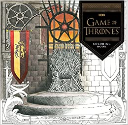 HBO\'s Game of Thrones Coloring Book: HBO: 9781452154305: Amazon ...