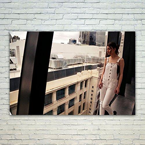 Westlake Art Poster Print Wall Art - Building Window - Moder