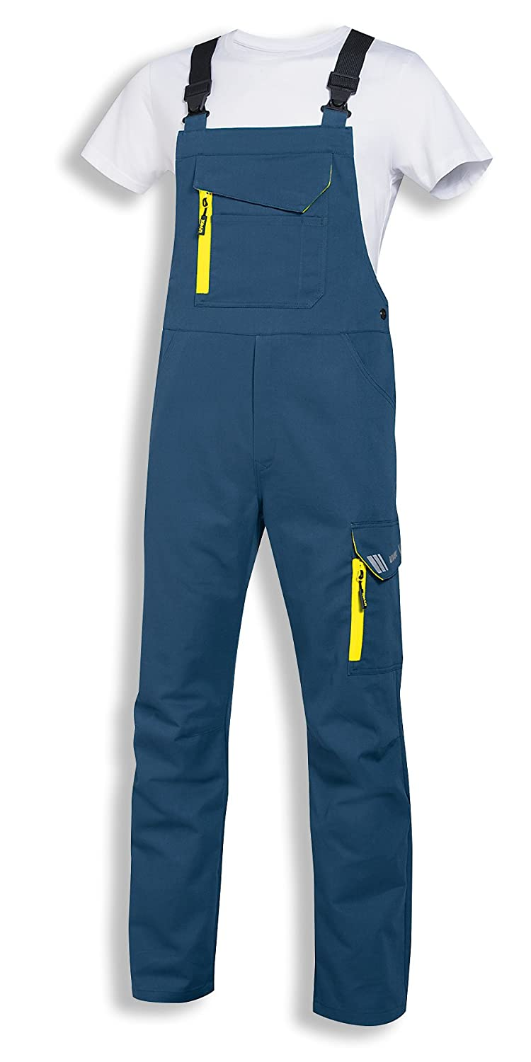 Uvex Safety Metal Work Dungarees Working Pants for Men and Women Unisex Safety Trousers with Elastic Waistband