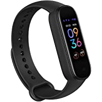 Amazfit Band 5 Smart Band Fitness Tracker with Alexa Built-in, 15-Day Battery Life, Blood Oxygen, Heart Rate, Sleep and…