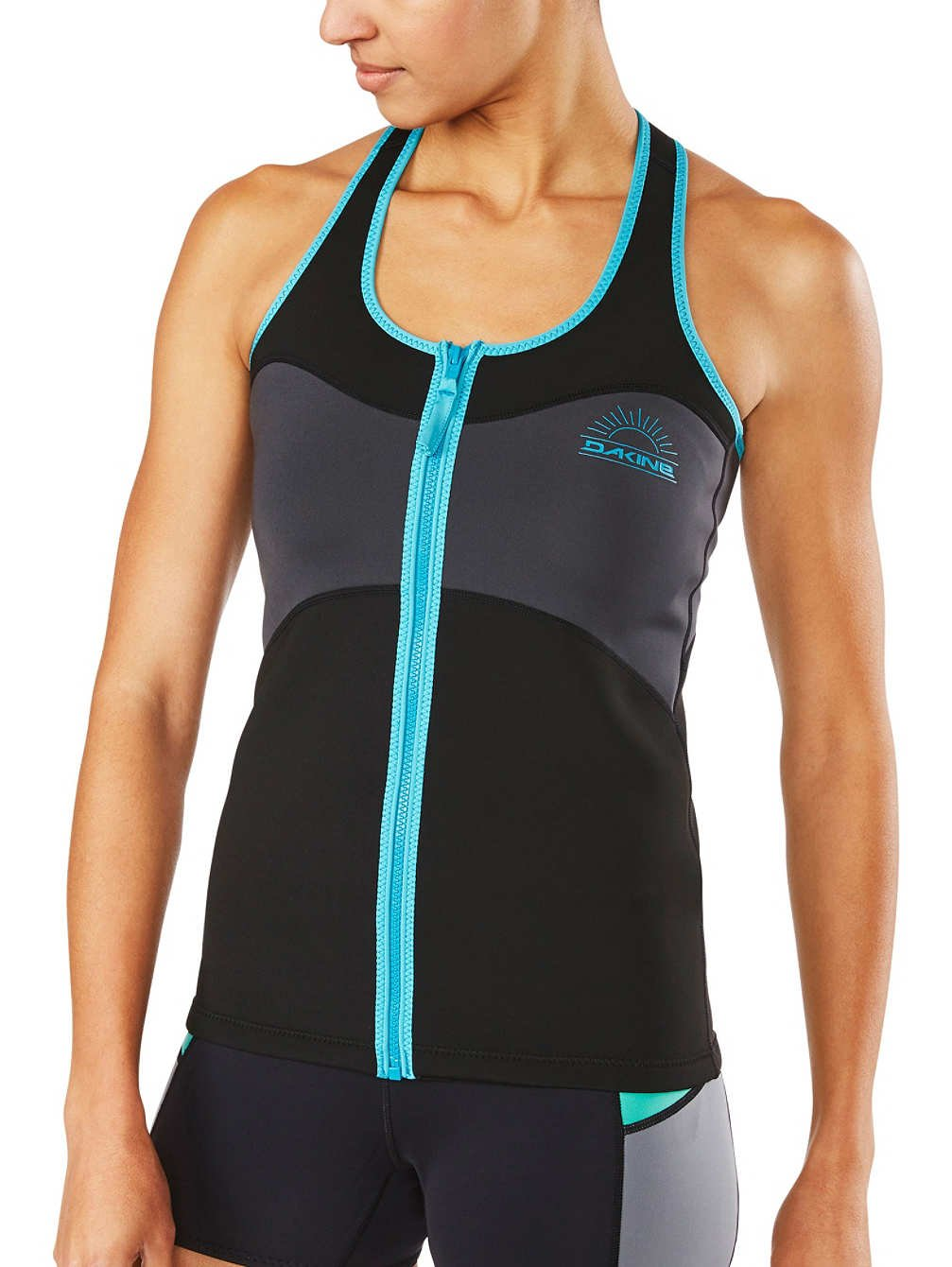 Dakine Women's 1mm Neo Vest, Black, XS by Dakine