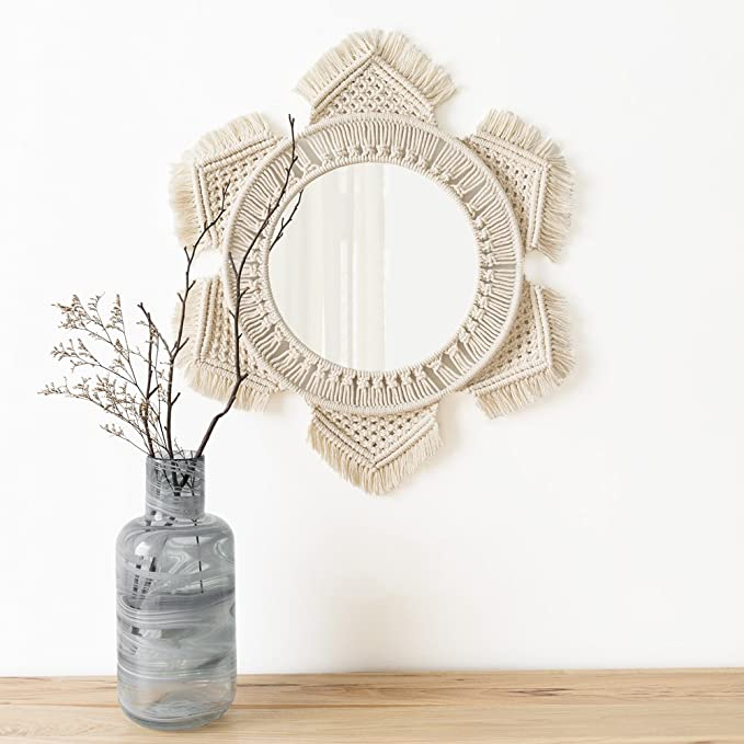 Macrame Wall Mirror