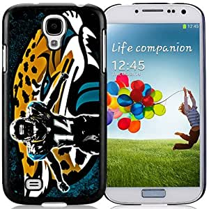 American Football Player Justin Blackmon Number-14 02 Black Abstract Samsung Galaxy S4 Phone Case