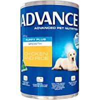 Advance Plus Growth Chicken Rice Dog Food 12 Pack, 12 Count 4.92 Kilograms