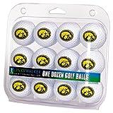 LinksWalker NCAA Iowa Hawkeyes - Dozen Golf Balls