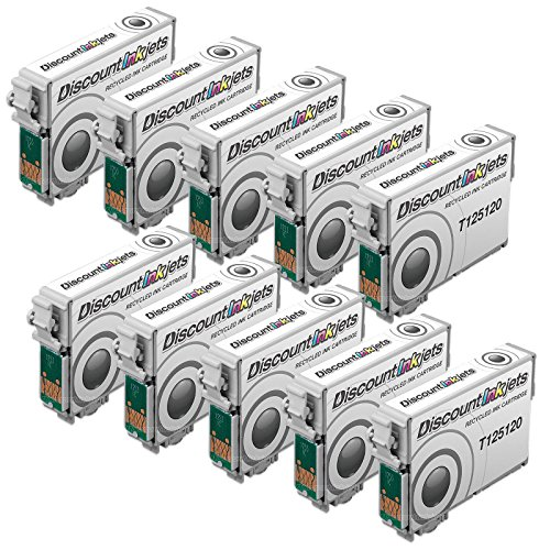 JS 10 BLACK 125 T125120 T1251 REMAN ink cartridge for Eps...
