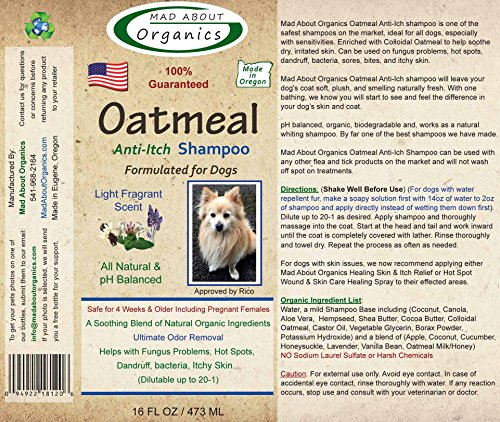 Mad-About-Organics-All-Natural-Dog-Puppy-Oatmeal-Anti-Itch-Shampoo-Concentrate-16oz