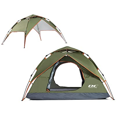US 2-3 Person Waterproof Instant Tent Outdoor Camping Automatic Pop Up Shelter