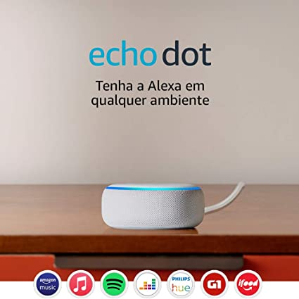 Echo Dot (3ª Geração): Smart Speaker com