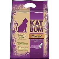 KatBom - Granulado Sanitário Natural, Marrom