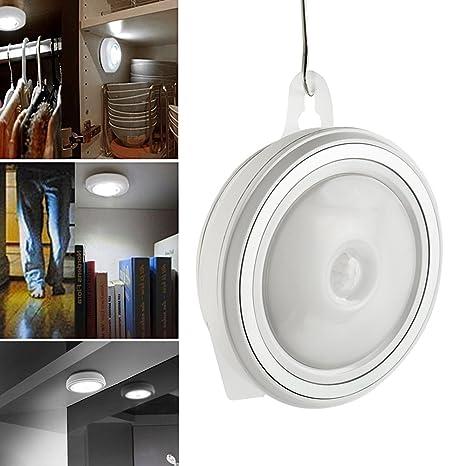 Iraza Luz Sensor de Movimiento, Luces para Armarios Sin Cable, Luz LED Nocturna con