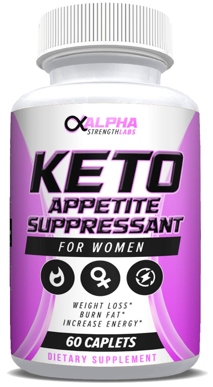 Keto Appetite Suppressant for Women - Natural Weight Loss Support Supplement - Burns Fat & Suppresses