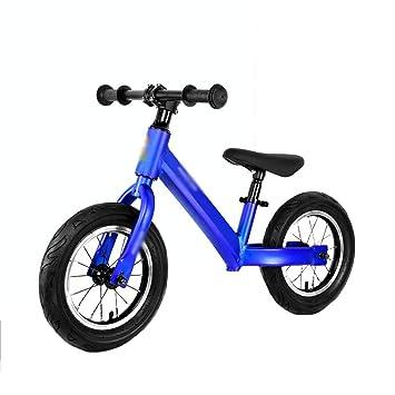DUWEN Rueda Doble de la Bicicleta de la Vespa del Coche del Equilibrio del niño sin Pedal 3-6 años (Color : Azul): Amazon.es: Deportes y aire libre