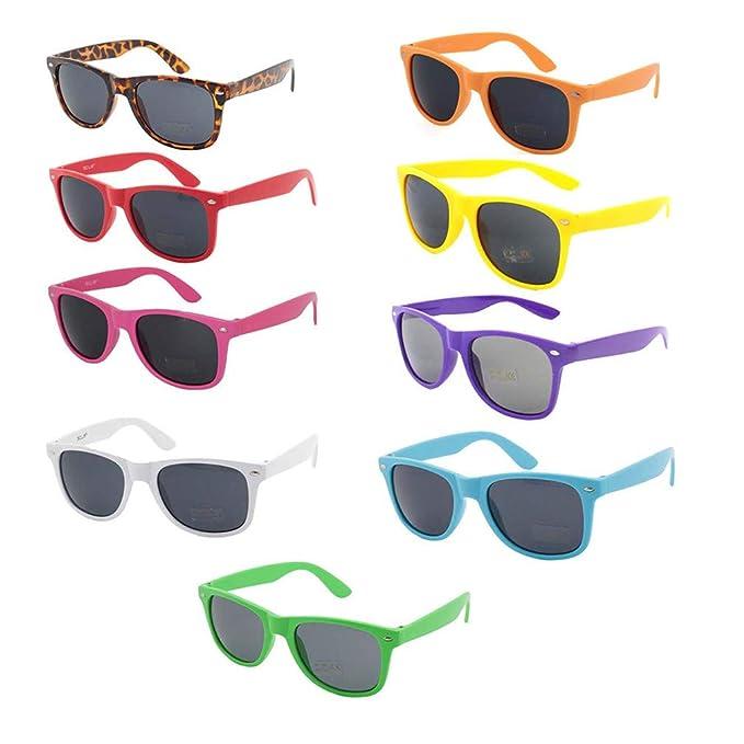 Amazon.com: SANGAITIANFU - 9 gafas de sol clásicas retro ...