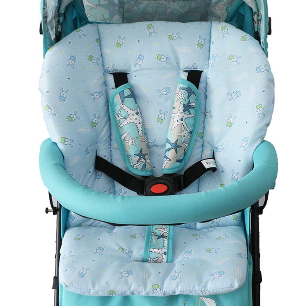 Autositz Baby Buggy-Einlage bequeme Baumwollpolster-Matte Polster f/ür Kinderwagen