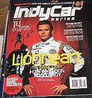 Dan Wheldon Irl Racing Indy 500 Champion Signed Indycar Magazine Coa Autographed - Autographed NASCAR Magazines by Sports Memorabilia