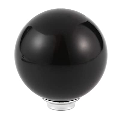 Arenbel Ball Shift Knob Car Gear Stick Shifter Knobs Shifting Lever Head fit Most Manual Automatic Vehicles, Black: Automotive