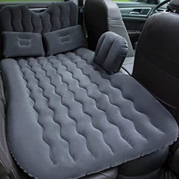 Amazon.com: Colchón hinchable plegable para coche, capa ...