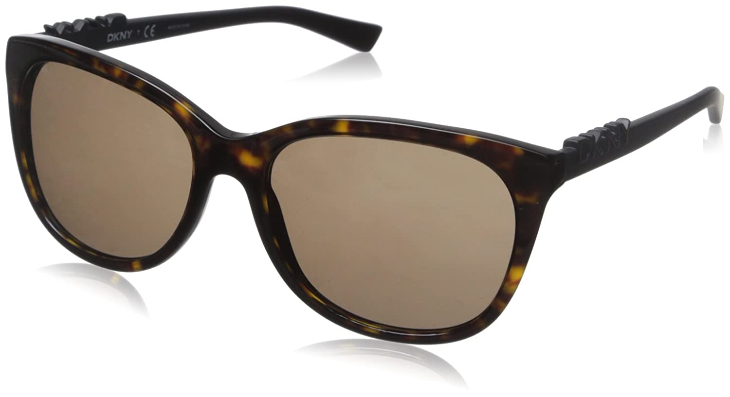 8f73ea4074a1 Amazon.com: DKNY Women's 0dy4126 Square, Rule/Brown Transparent, 57 mm:  Clothing