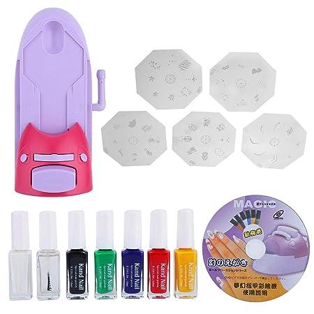 Impresora de patrones de arte de uñas, Impresora de arte de ...
