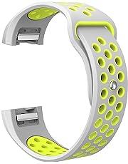 Prevently - Correa de Silicona para Reloj Fitbit Charge 2