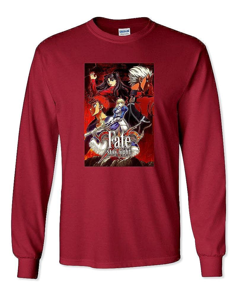 Fate Stay Night Anime Unisex Long Sleeve T-Shirt