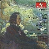 Mendelssohn: Songs Without Words (Complete); Rondo Capriccioso (2 Discs Set)