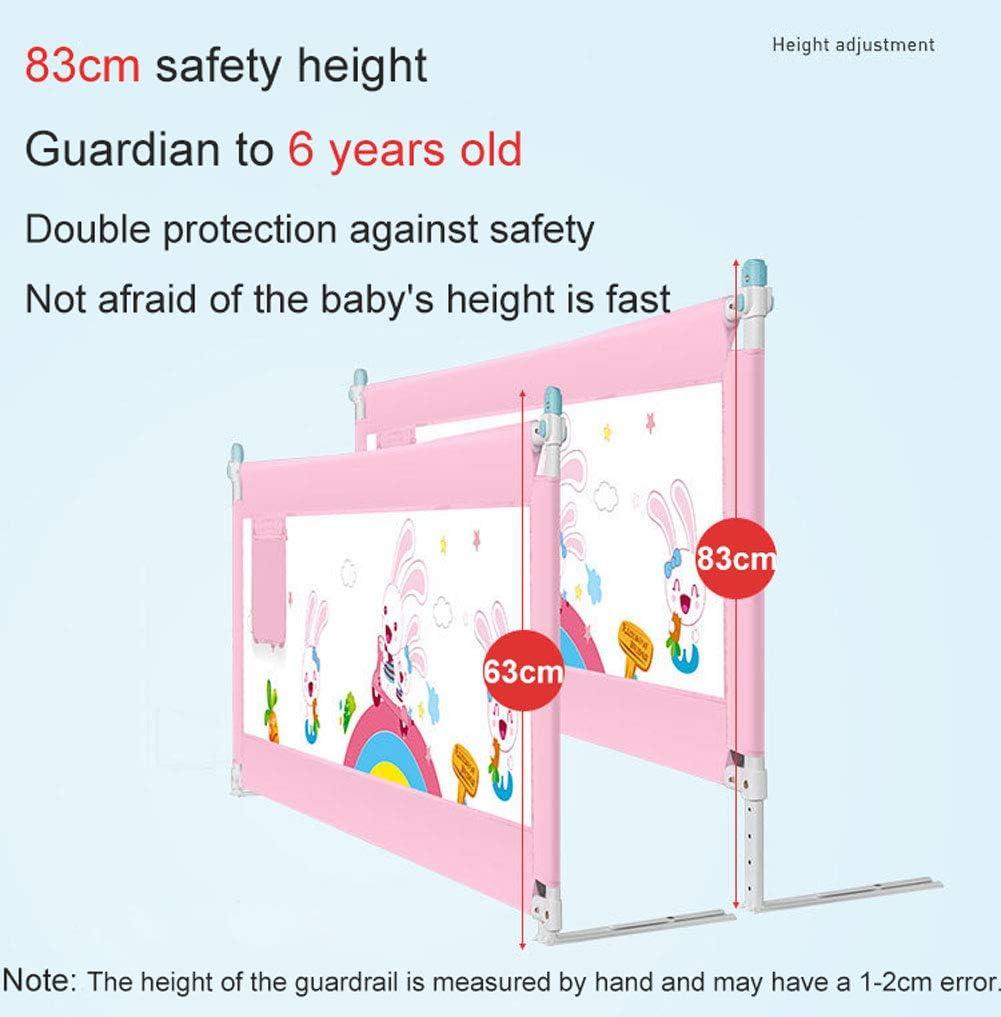 Q/&Z Barri/èRes De Lit Pour B/éB/é,5 Hauteur R/éGlable Garde De S/éCurit/é Portable Bedrail Ascenseur Vertical Safety Guard Installation Facile Pour S/éCurit/é Des Enfants