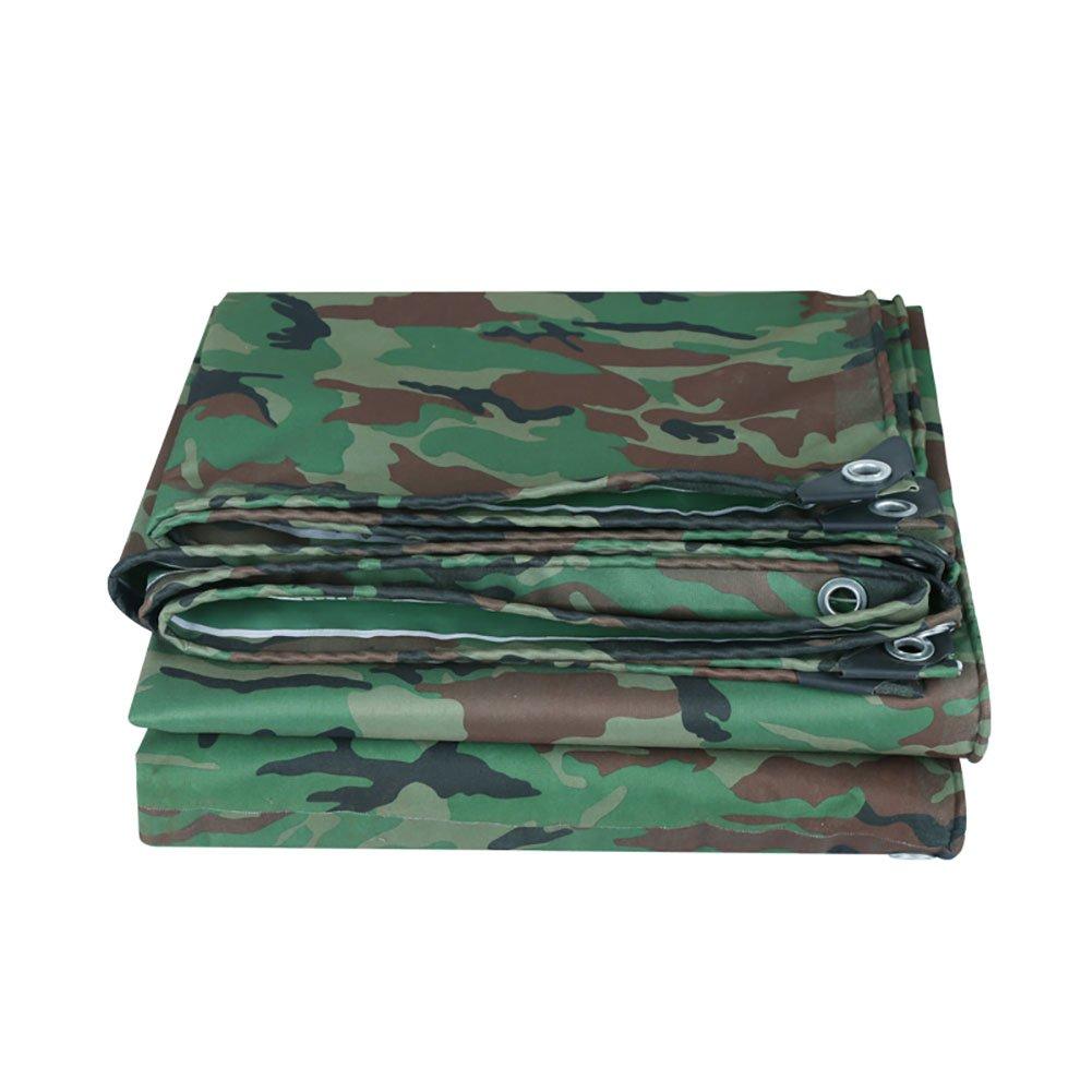 YY-ZP Telo Impermeabile Camouflage Tela impermeabilizzata Resistente Telo Copridimensionale Army Army Camo Isolamento Tenda Esterna Tenda Tenda da Sole Tenda da Sole (Dimensioni   3  5m)