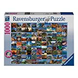 (US) Ravensburger 99 Beautiful Places on Earth Jigsaw Puzzle (1000-Piece)