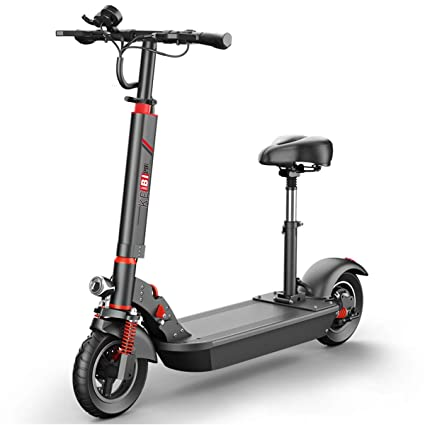 Amazon.com: ZMJJ Electric Scooter,Foldable Electric Kick ...
