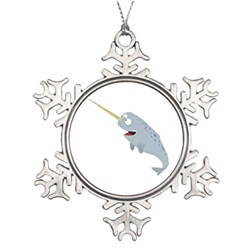kappies nip tree branch decoration narwhal christmas decoration ideas - Narwhal Christmas Decoration