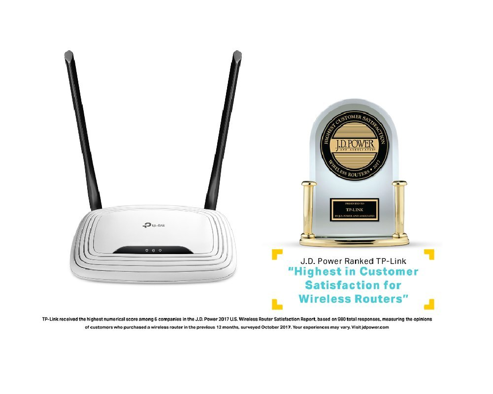 Tp Link N300 Wireless Wi Fi Router 2 X 5dbi High Power Tl Wr840n 300mbps Wirless 840n Antennas Up To Wr841n Computers Accessories