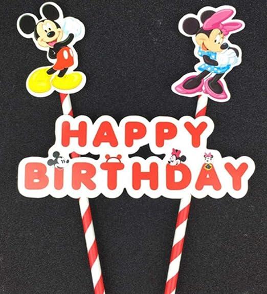 DYTJ-Candles 1 Juego De Dibujos Animados Mickey Minnie ...