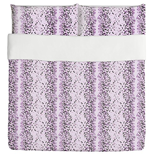 Abstract Animalprint Duvet Bed Set 3 Piece Set Duvet Cover - 2 Pillow Shams - Luxury Microfiber, Soft, Breathable by uneekee