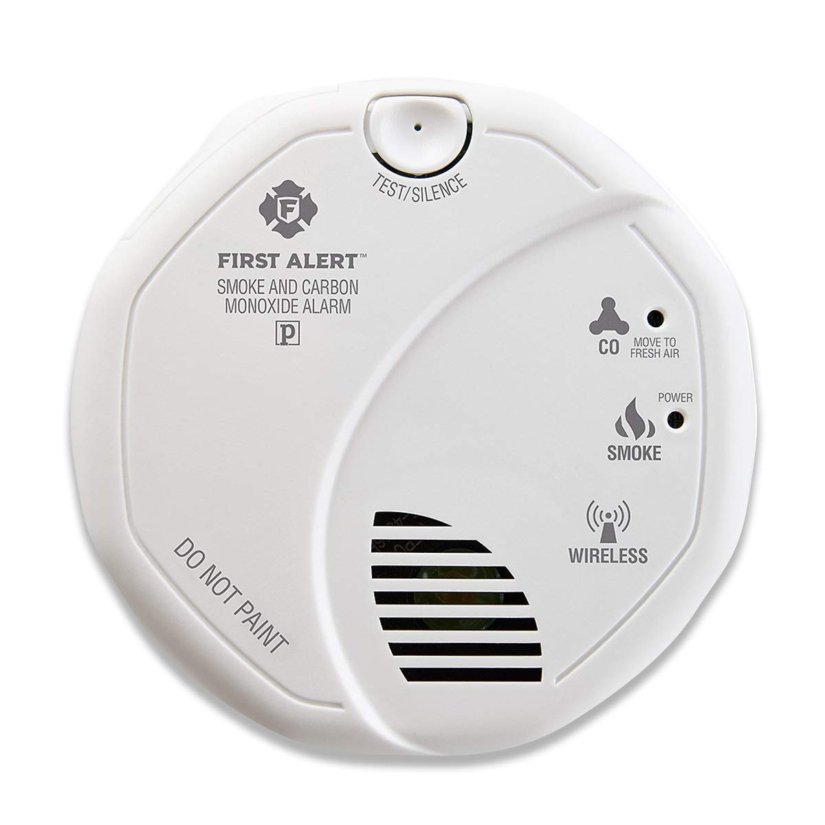 First Alert 2-in-1 Z-Wave Wireless Smoke Detector & Carbon Monoxide Alarm, Battery Operated (Renewed)