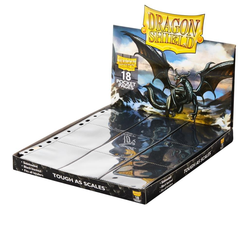 Portfolio: Dragon Shield 18-Pocket Collectors Black (50) Arcane Tinman AT-10301