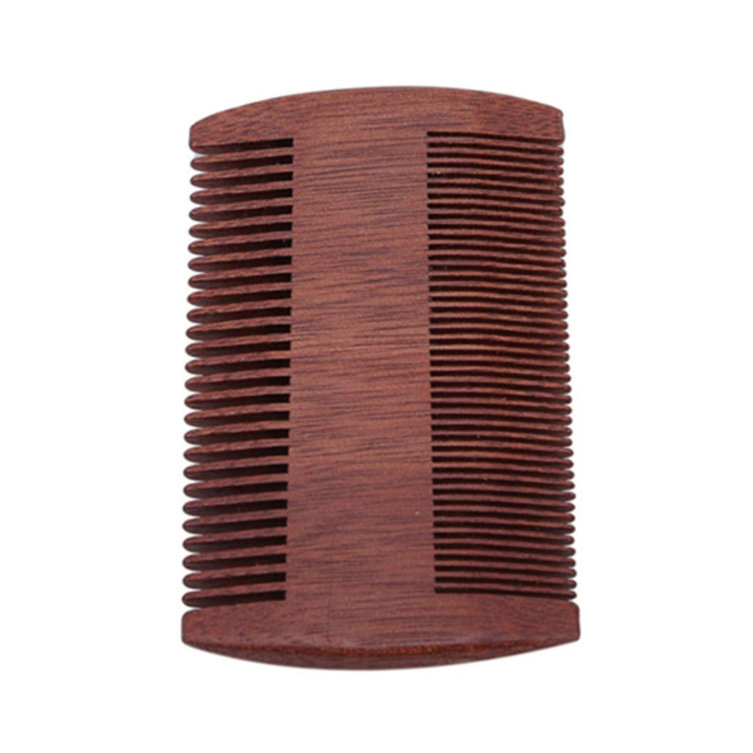 LZIYAN Densities Teeth Wooden Hair Comb Anti-Static Double Tooth Comb Portable Straight Hair Comb For Men And Women by LZIYAN (Image #3)