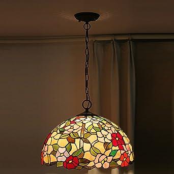Tiffany 18 Zoll Eigenschaften Wohnzimmer Schlafzimmer Im Europ?ischen Stil  Garten Glass Leuchten