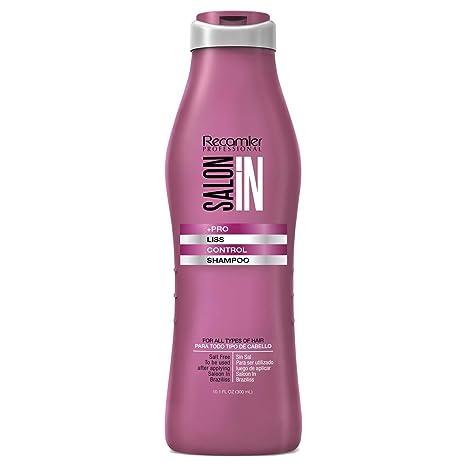 Recamier SalonIn Liss Control Shampoo Para Todo Tipo de Cabello Sin Sal Para ser Utilizado Luego