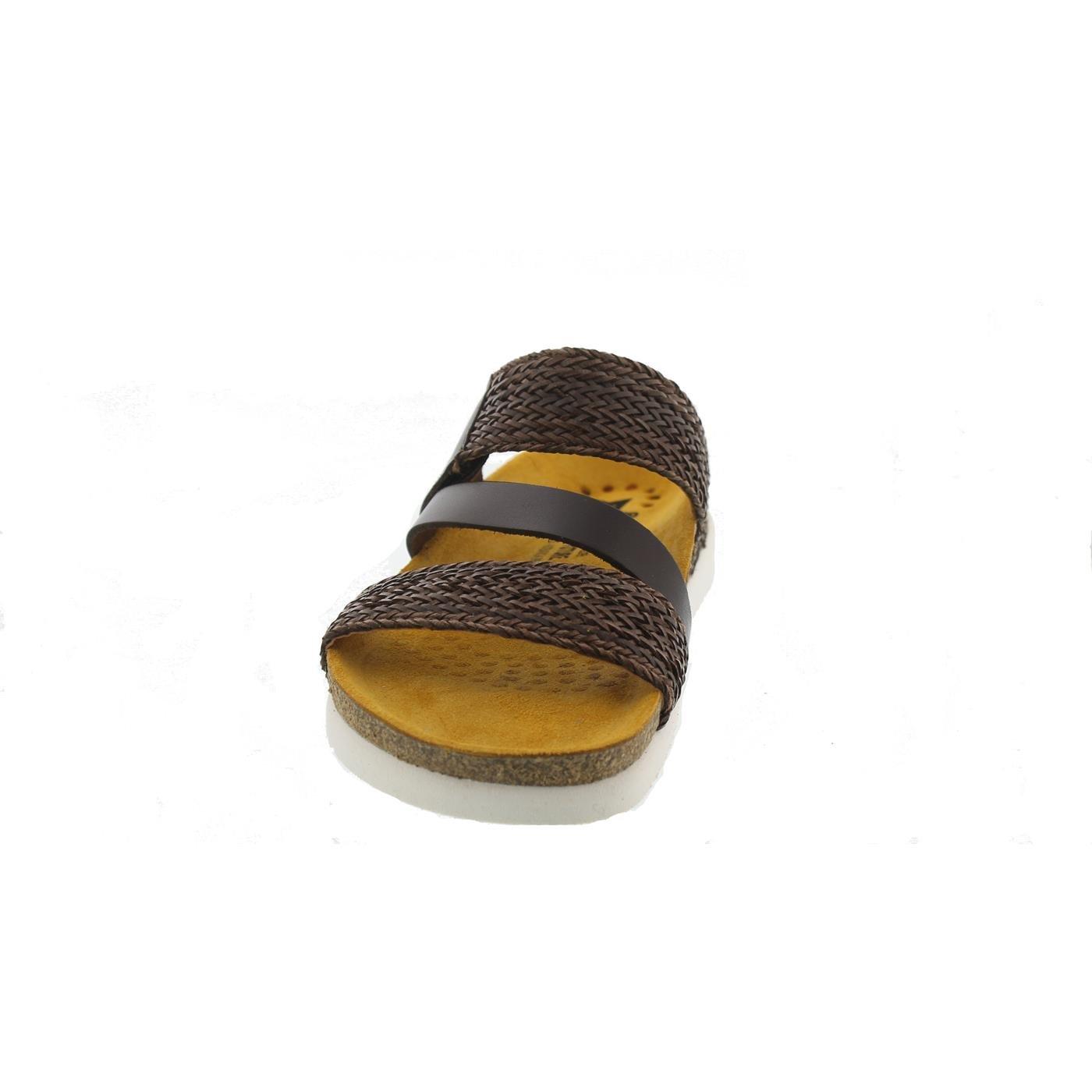 Mephisto Rose Twist, Pantolette, Braun Glattleder, Braun Pantolette, R3149 Braun 6a10c6