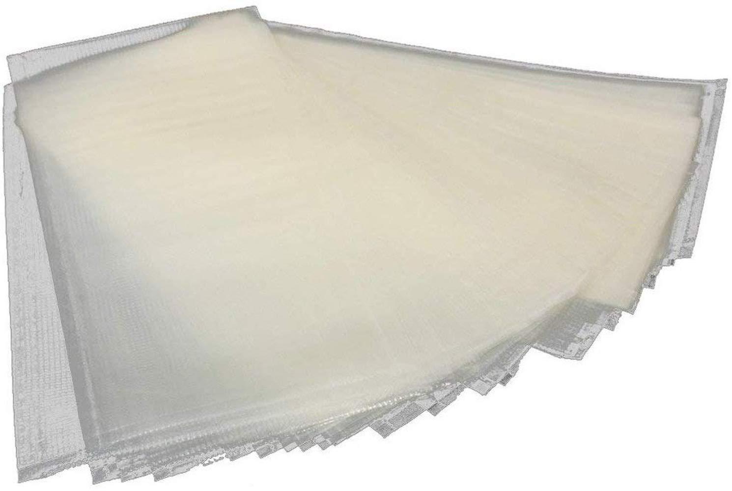 zum Wasserl/ösen 250 St/ück Karpfenangeln Esoar PVA Beutel f/ür Karpfenangeln