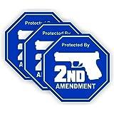 2nd Amendment Hard Hat Sticker / Helmet Decal Label Lunch Tool Box