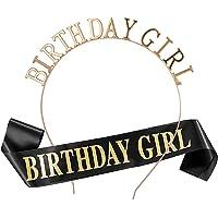 Feliz cumpleaños Faja Banda de satén cumpleaños Sash