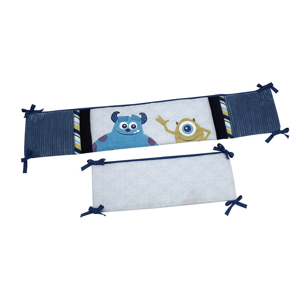 Disney Baby - Monsters, Inc. 4-Piece Crib Bumper Crown Crafts Infant Products 085214095554