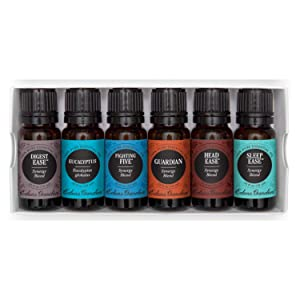 Edens Garden Health & Wellness Essential Oil 6 Set