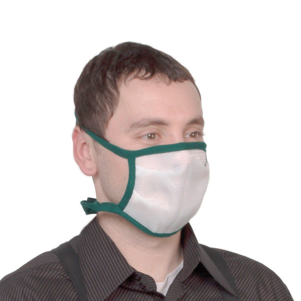 X-Large Dust Bee Gone Mask,Green