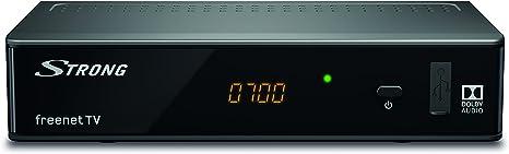 Strong SRT 8541 tV set-top boxes Terrestre Alta Definición Total Negro - Reproductor/sintonizador (solo apto para Alemania): Amazon.es: Electrónica